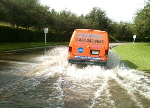 911 Restoration Reno Flood Van