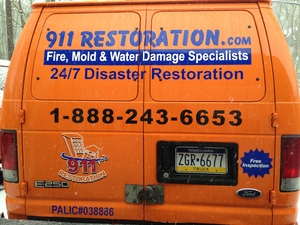 Water damage Incline Village fully equipped truck