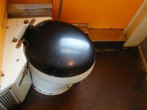 Water Damage Sewage Backup In Old Bathroom