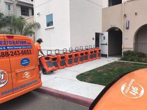 911 Restoration Onsite Job Prep reno sewage backup