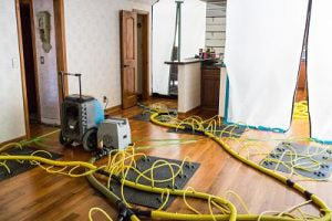 State of the art water damage reno restoration equipment