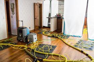 State of the art water damage reno restoration equipment